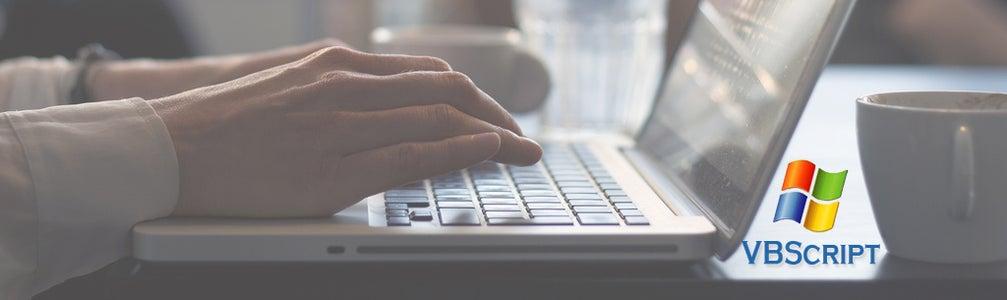 Typing Helper Software Using VBscript