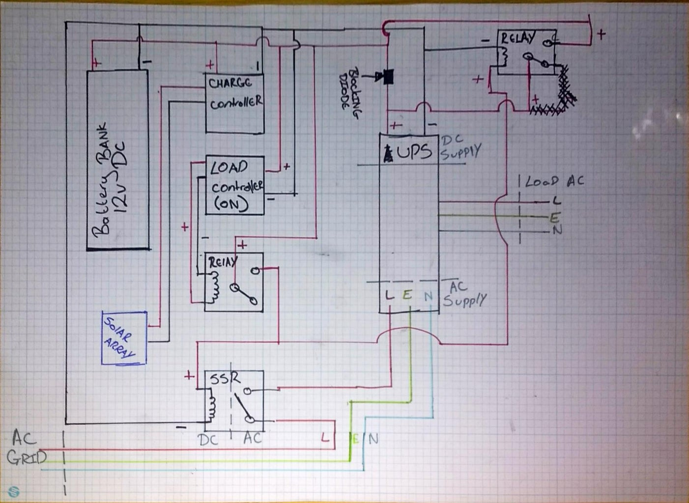 Creating a Switching System That Controls the Ups