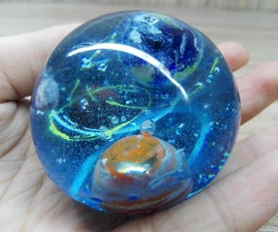 How to Make This Universe With Resin    Resin Art