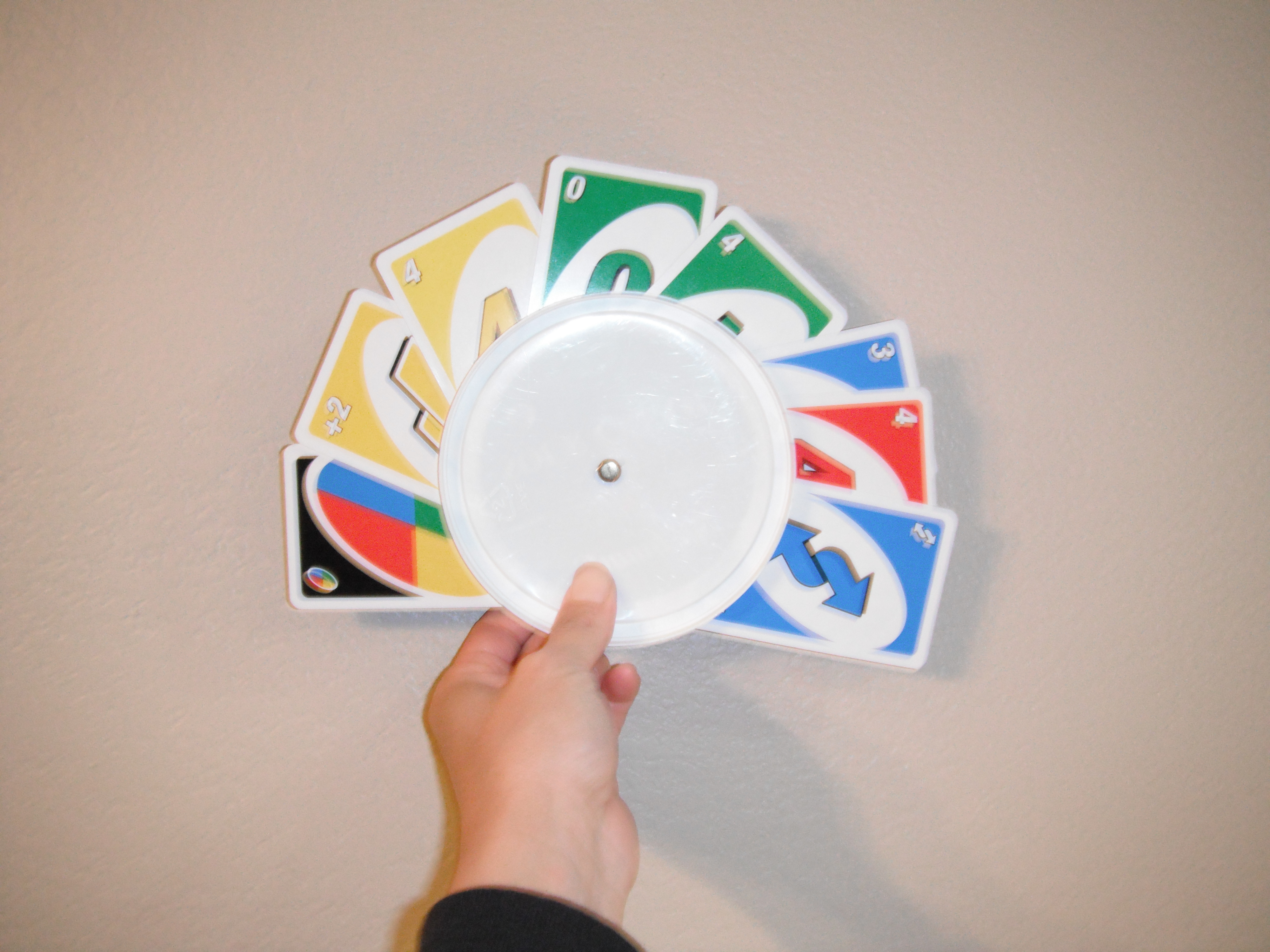 Easy to Make Playing Card Holder for Little Hands