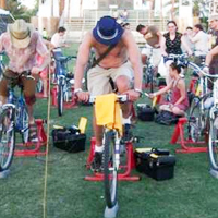 Stationary Bicycle Power