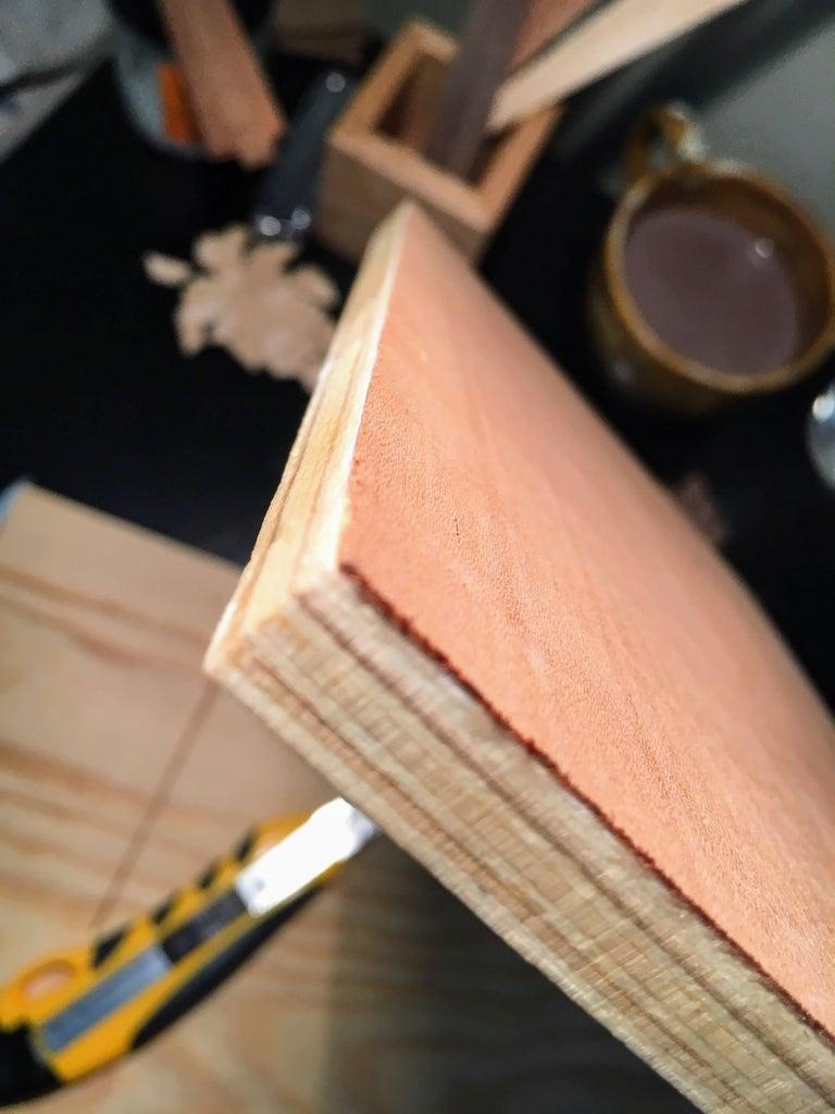 Gluing the Body Veneer