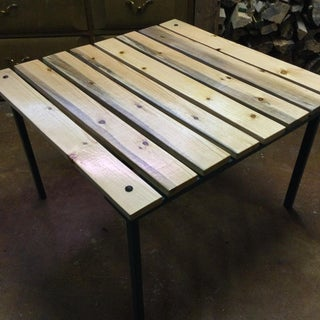 Make a Collapsable Table for Concerts in the Park!