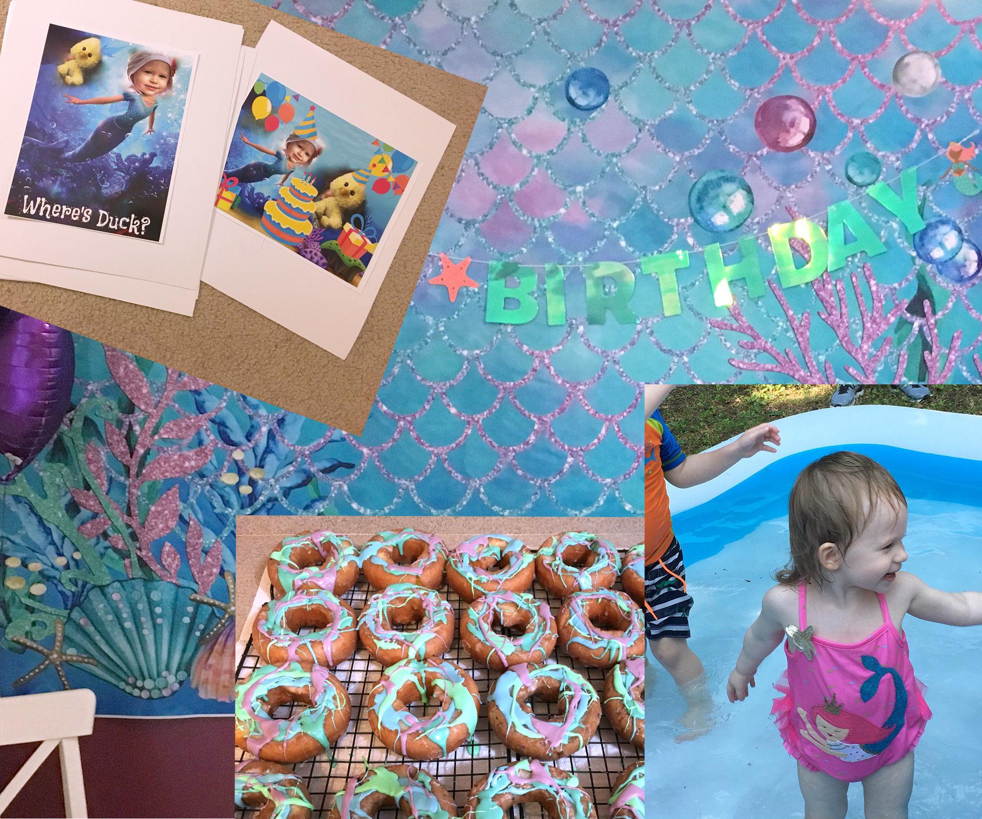 Mermaid Party + ASL Story