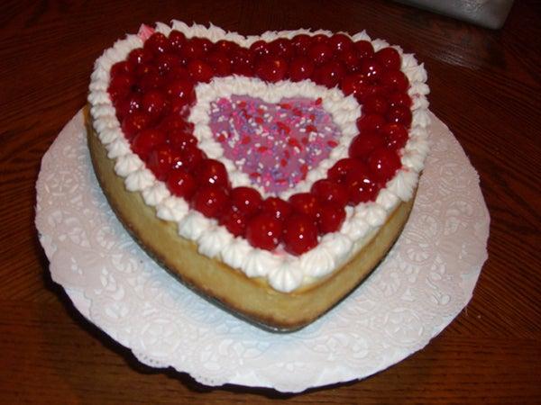 Valentine Cheese Cake