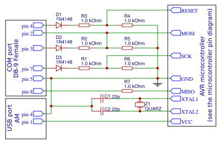 Circuit Schematic Diagram of Programmer