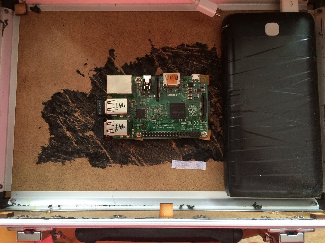 Installing the Raspberry Pi and Battery