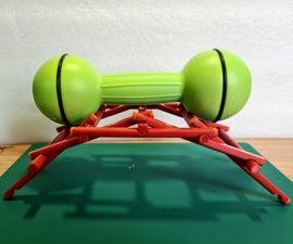 Make a Da Vinci Bridge Using Household Items (with 3D Printable Option)