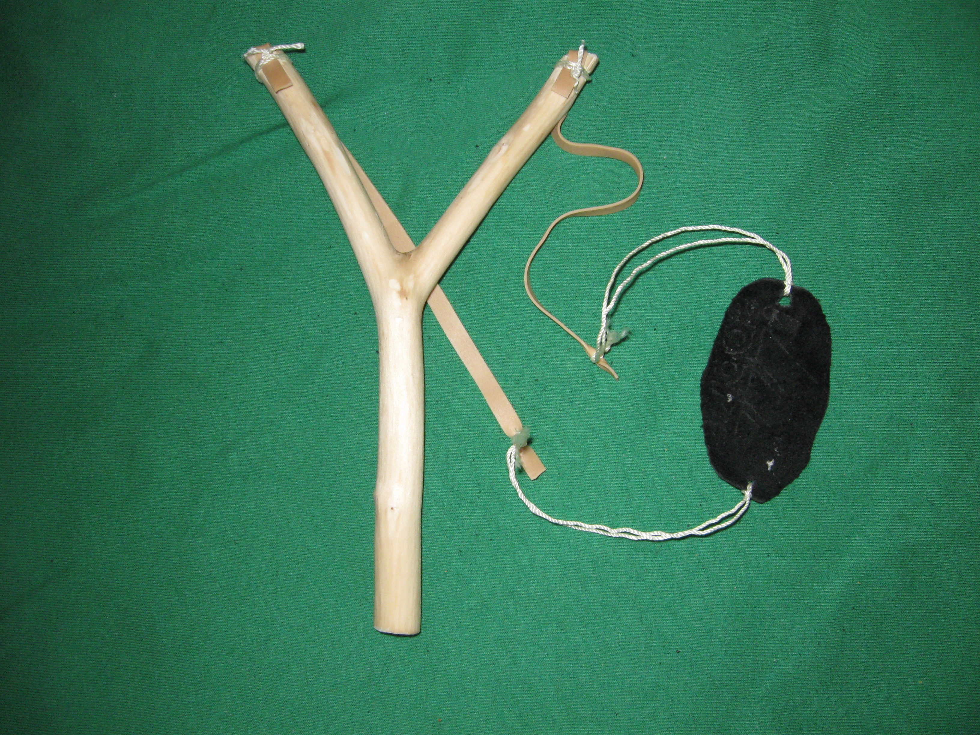 """How to make a """"Country Boy"""" style slingshot"""