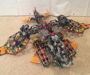 K'nex Starcraft 2 AH/G-24 Banshee