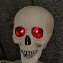 Skeleton With Dimming Red Eyes