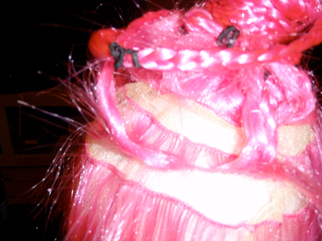 Divide and Conquer; Braiding the Pink Wig.