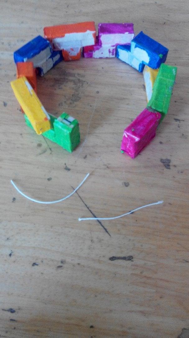Sticking the Blocks Together