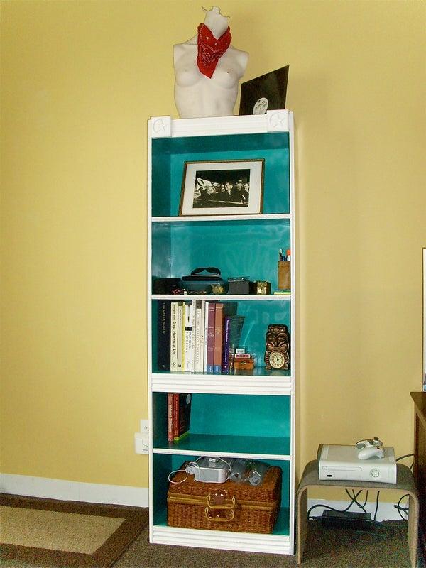 Make an Old Bookshelf Gallery Worthy!