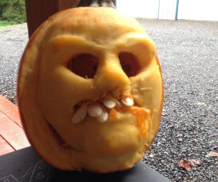 How to Carve a Scary 3D Pumpkin