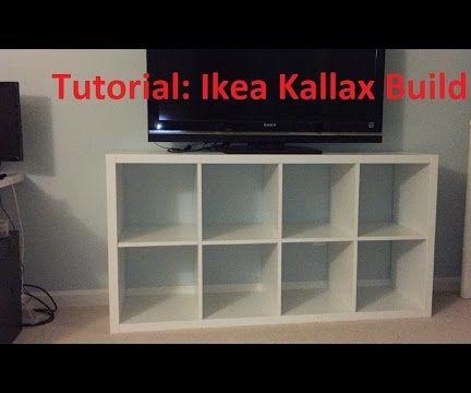 Tutorial: Ikea Kallax/Expedit Build