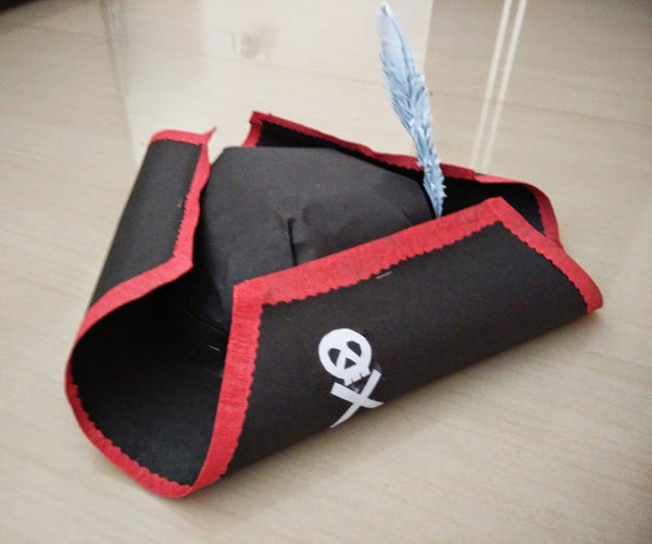 Pirate's Hat Using Paper for Halloween