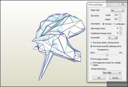 Print and Paper Settings