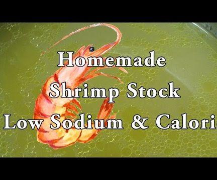Easy Homemade Shrimp Stock
