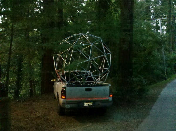 Instructables - Geodesic Sphere
