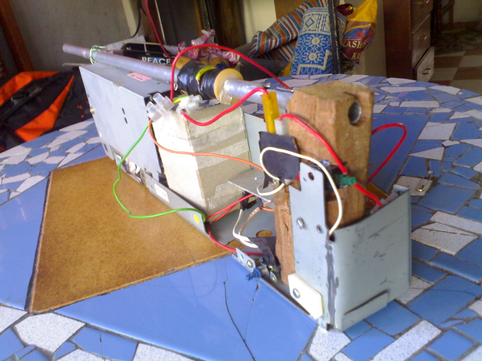 The making of a powerful low cost coilgun which is portable