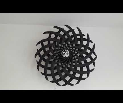 3D Printed Moire Illusion