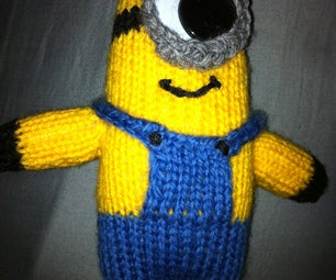 How to Knit a Minion