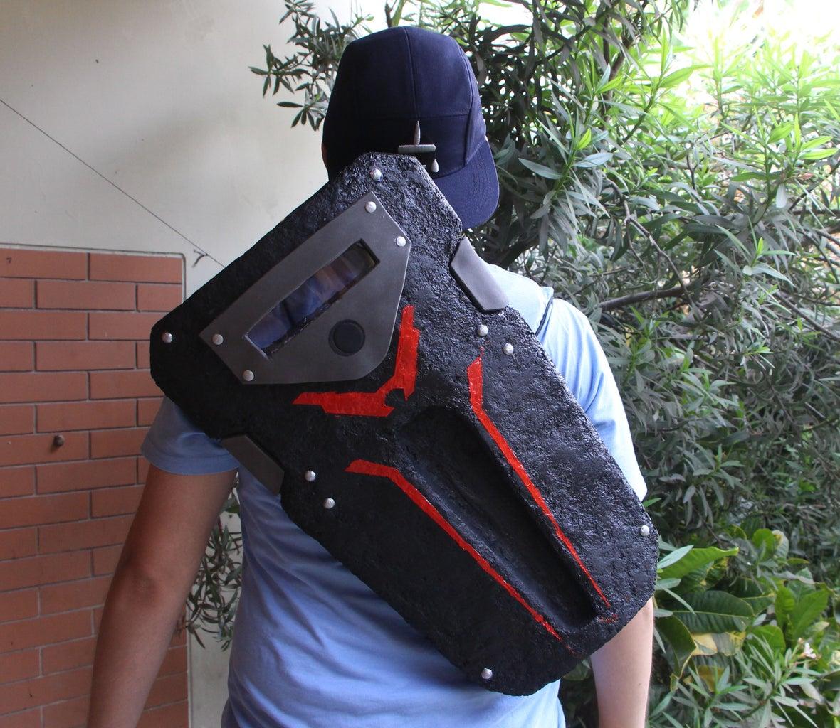 Subjugator - Fortnite Backpack
