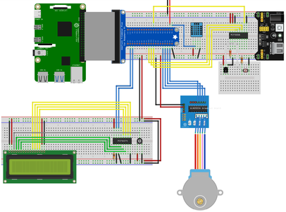 Step3 : Connecting the Electronics and Coding