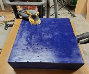 Downdraft Sanding Table From Scraps