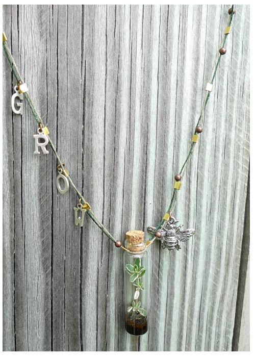 Portable Terrarium Necklace