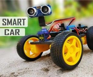 DIY Arduino Obstacle Avoiding Car at Home