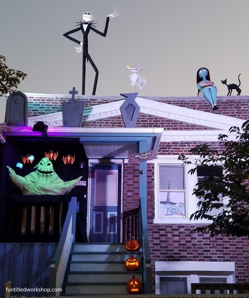 Nightmare Before Christmas Outdoor Halloween Decorations