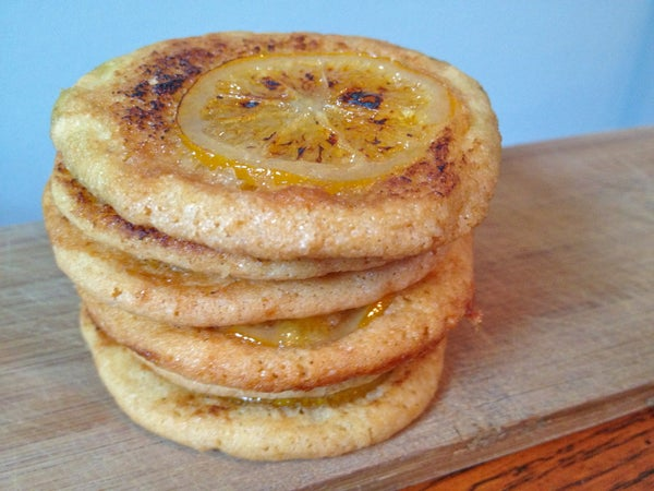 Bruleed Meyer Lemon Cookies