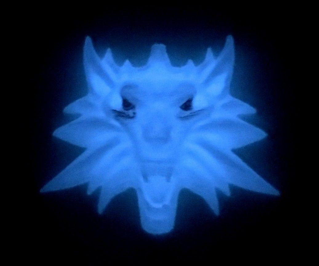 Glow-in-the-Dark Witcher Medallions
