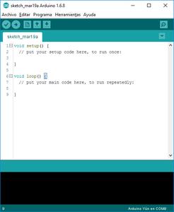 Cargar Código a Arduino