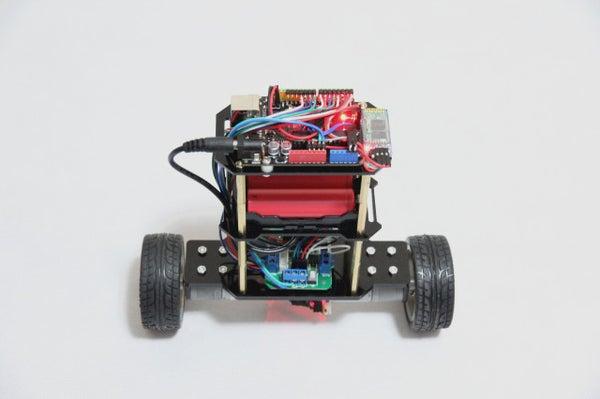 2-Wheel Self Balancing Robot by Using Arduino and MPU6050