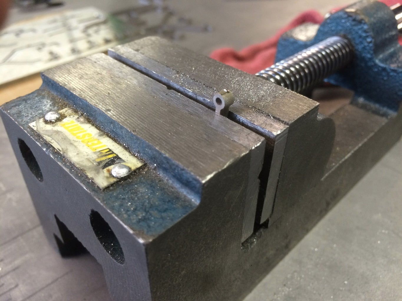 Waterjet Inlay Post-processing