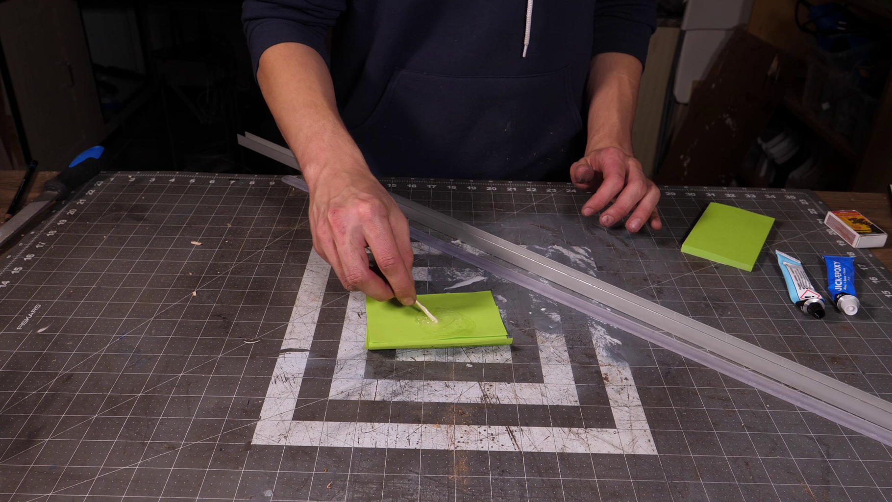 Fastening the Acrylic Light Diffuser