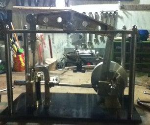 Air Powered Steam Engine