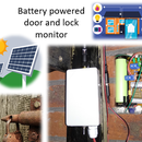 Battery Powered Shed Door & Lock Sensor, Solar, ESP8266, ESP-Now, MQTT