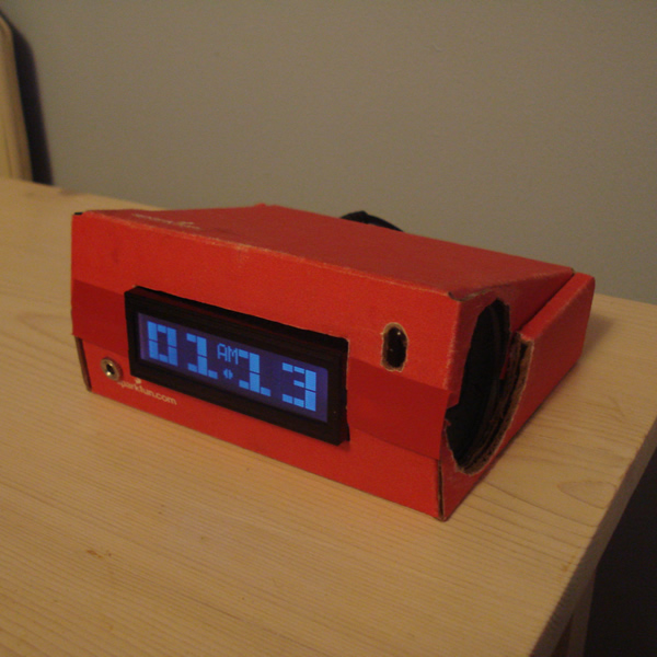 Music Playing Alarm Clock