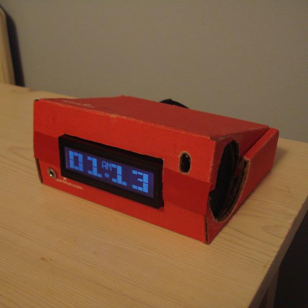 Music Playing Alarm Clock