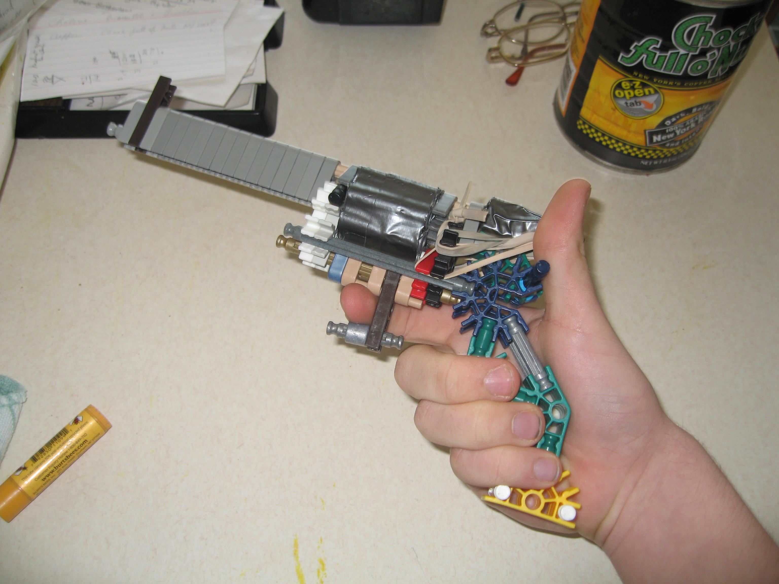 Sypranic 8 round Revolver + Modern