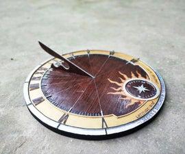 Ancient SUNDIAL Clock