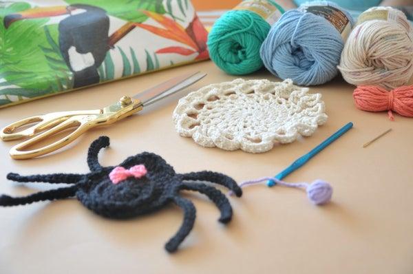 Porta Vasos Crochet