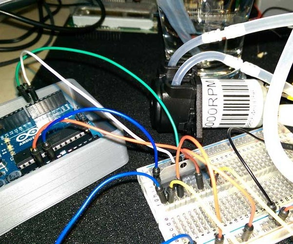 Control Peristaltic Pump With TA7291P and an Arduino