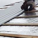 Reroofing With Corrugated Metal and Radiant Barrier Over Asphalt Shingles in 3 Steps!