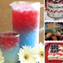 Red, White, and Blue Food