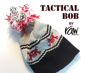Tactical Bob (paracord and Fishing Line Survival Upgrade for Your Knit Hat / Beanie)
